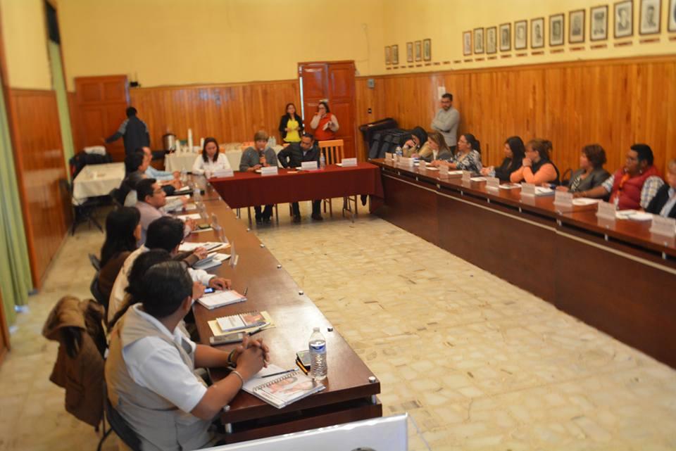 Sesión regional de PROSPERA